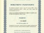 Patent urządzenia do czyszczenia